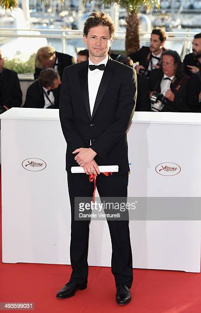 Bennett Miller attends the 'Palme D'Or Winners Photocall' at the 67th Annual Cannes Film Festival on May 24 2014 in Cannes France