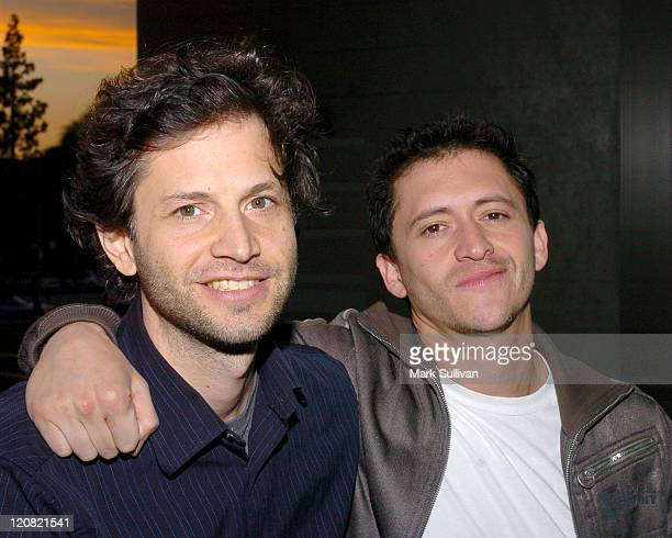 Bennett Miller director and Clifton Collins Jr during Backstage West 'Capote' Screening and QA at Pacific Design Center in West Hollywood California...