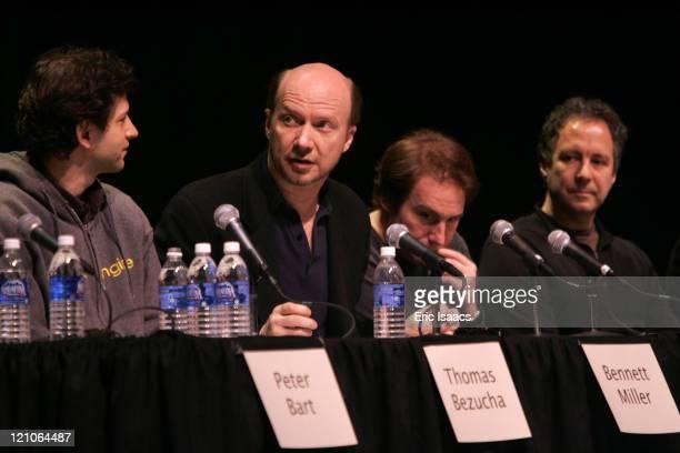 Bennett Miller director 'Capote Paul Haggis director 'Crash' Mike Binder director 'The Upside Of Anger' Duncan Tucker director 'Transamerica'