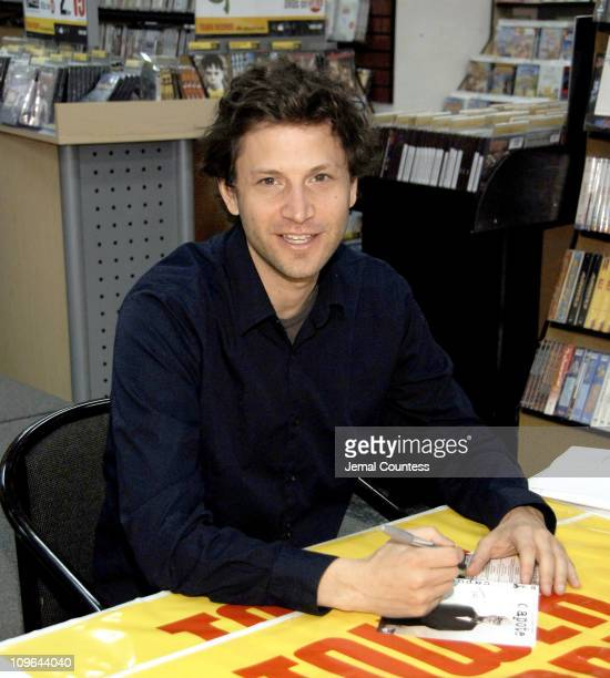 Bennett Miller during Bennett Miller InStore Signing at Tower Video in New York City March 21 2006 at Tower Video in New York City New York United...