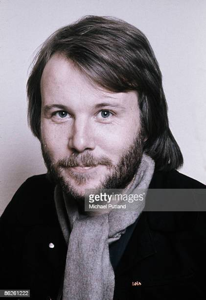 Benny Andersson of Swedish pop group Abba in Stockholm April 1976