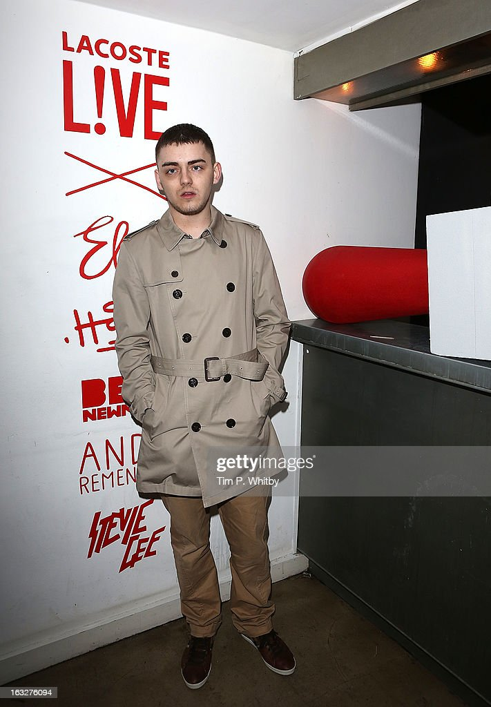 Benny Banks attends the Lacoste L!ve Tee Party Introducing The Artist Series Collaboration Project at Shoreditch House on March 6, 2013 in London, England.