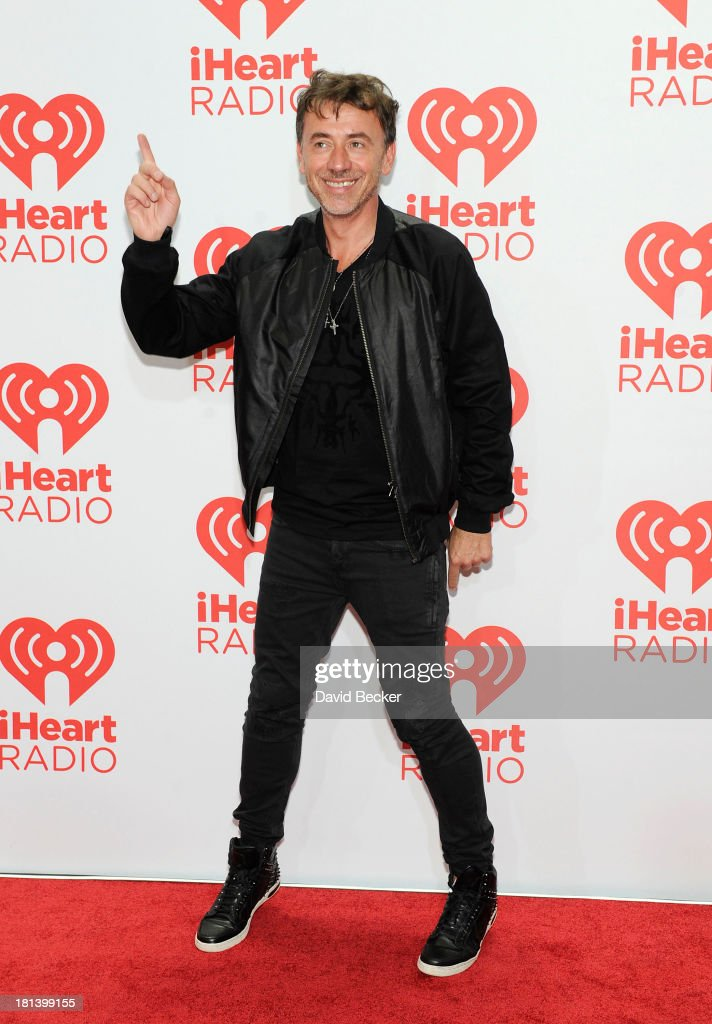 DJ Benny Benassi attends the iHeartRadio Music Festival at the MGM Grand Garden Arena on September 20, 2013 in Las Vegas, Nevada.