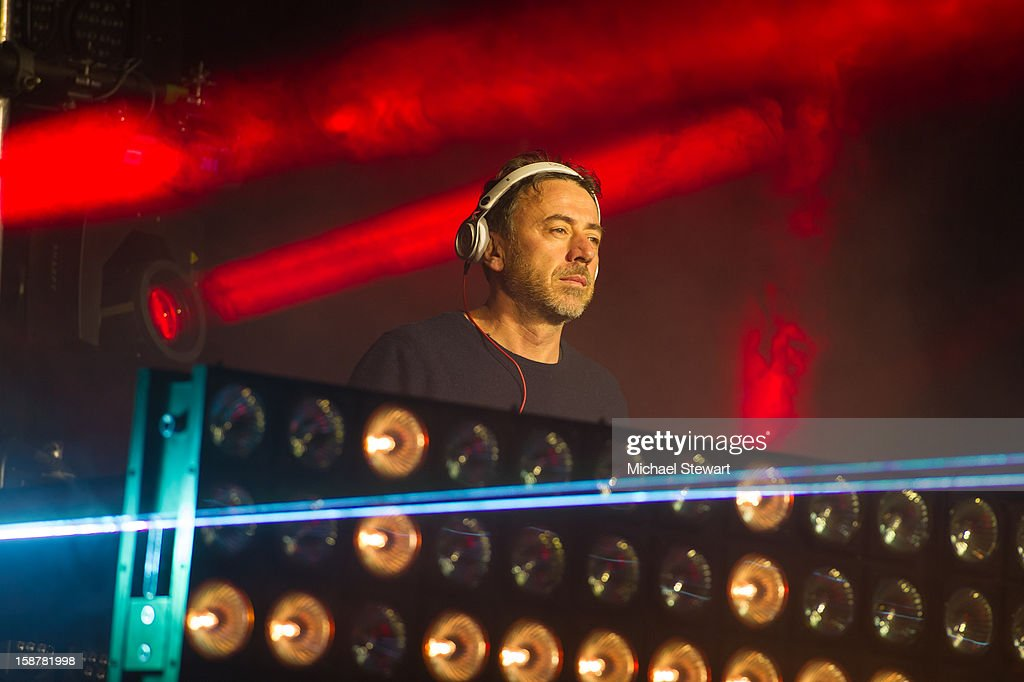 DJ Benny Bennassi performs during 2012 Aokify NYC at Pier 94 on December 27, 2012 in New York City.