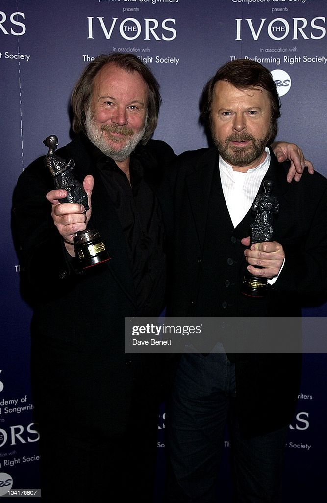 Benny & Bjorn (abba), Ivor Novello Awards 2002 At The Grosvenor House Hotel In London.