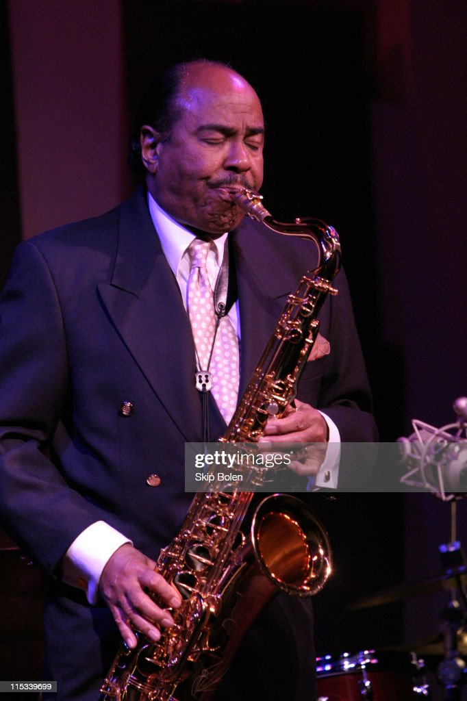Saxophonist Benny Golson Performing at Jazz Bakery - February 16, 2005