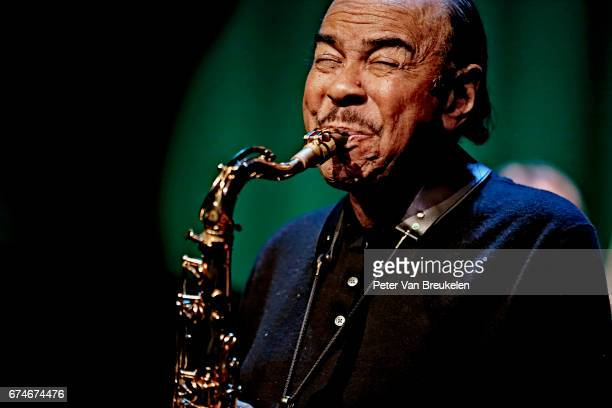 Benny Golson Performs at Lantaren Venster on April 08 2017 in Rotterdam The Netherlands