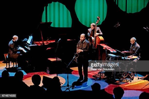 Benny Golson quartet Performs at Lantaren Venster on April 08 2017 in Rotterdam The Netherlands