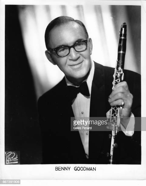 Benny Goodman studio portrait United States 1955
