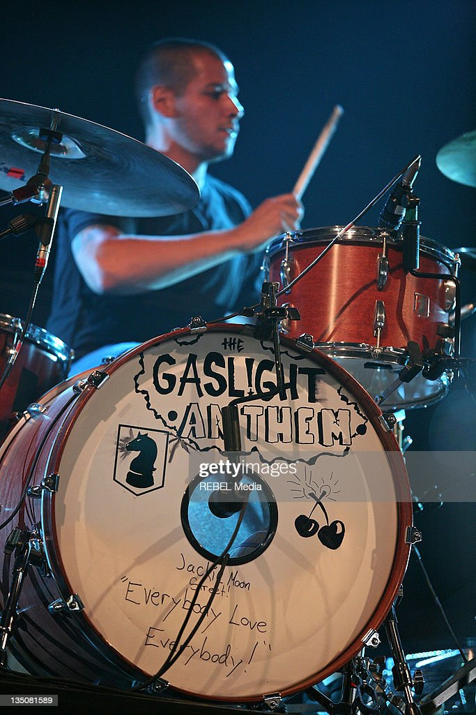 Benny Horowitz of The Gaslight Anthem performs on day one of the Roskilde Festival on July 2, 2009 in Roskilde, Denmark.