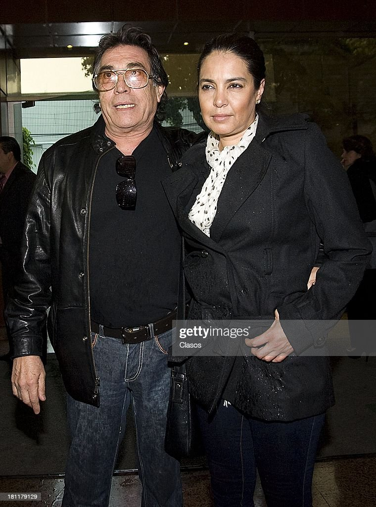 Benny Ibarra during the funeral of Rock & Roll singer Johnny Laboriel at the Gayosso Sullivan Funeral Agency on September 18, 2013 in Mexico City, Mexico.