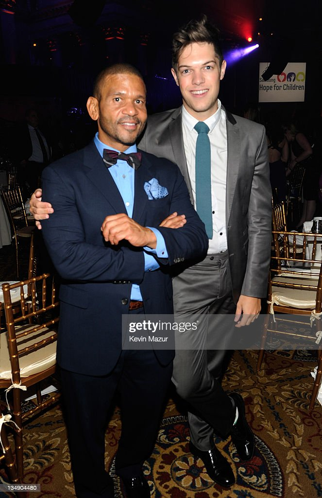Benny Medina and Emerson Barth attend Samsung's 9th Annual Four Seasons of Hope Gala at Cipriani Wall Street on June 15, 2010 in New York City.