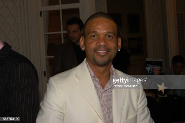Benny Medina attends Kathy and Rick Hilton's party for Donald Trump and 'The Apprentice' at the Hiltons' Home on February 28 2004 in Holmby Hills...