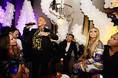 Jennifer Lopez's MTV VMA's Vanguard Award Celebration...