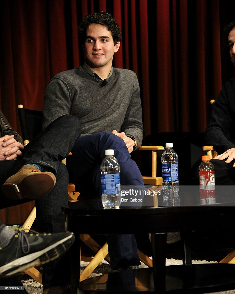 Benny Safdie speaks during the Future Of Film: A Conversation With Nerdist during the 2013 Tribeca Film Festival on April 23, 2013 in New York City.