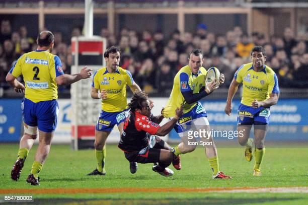 Benoit BABY Gabriele LOVOBALAVU Clermont / Toulon 20eme journee du Top 14