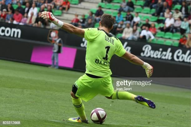 Benoit COSTIL Rennes / Caen 4eme journee de Ligue 1