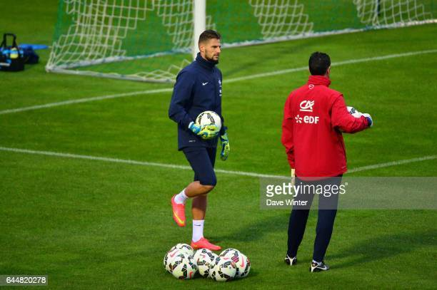 Benoit COSTIL / Franck RAVIOT Football Entrainement Equipe de France Clarefontaine Photo Dave Winter / Icon Sport