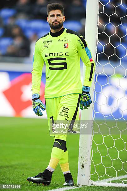 Benoit COSTIL of Rennes during the French Ligue 1 match between Lyon and Rennes at Stade des Lumieres on December 11 2016 in Decimes France