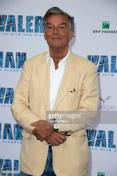 Benoit Jacquot attends 'Valerian et la Cite desMille Planetes' Paris Premiere at La Cite Du Cinema on July 25 2017 in SaintDenis France