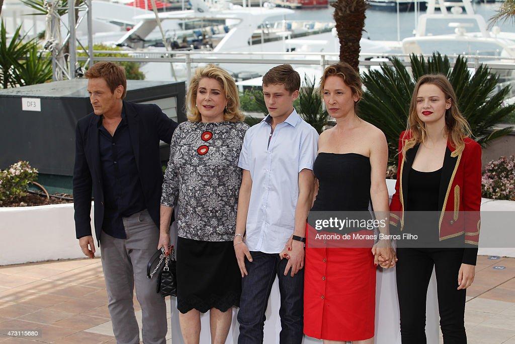 """""""La Tete Haute"""" Photocall - The 68th Annual Cannes Film Festival"""