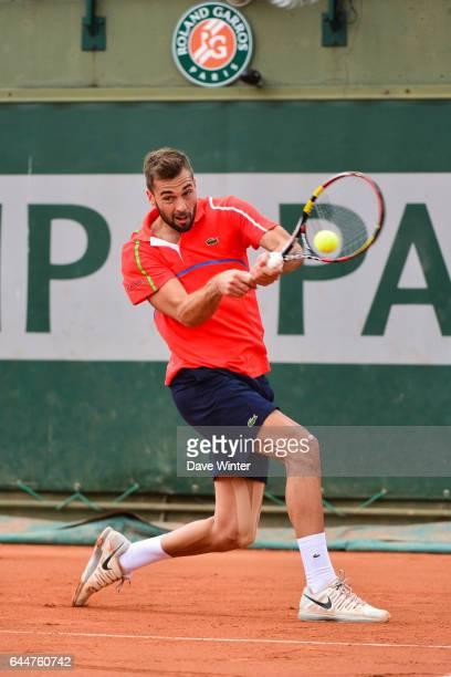 Benoit PAIRE Roland Garros 2014 Photo Dave Winter / Icon Sport