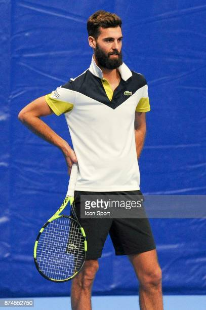 Benoit Paire of Colomiers during the French Team Championships match between Boulogne Billancourt and Colomiers on November 15 2017 in...