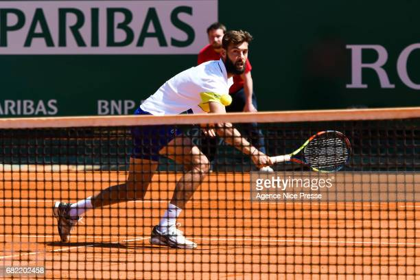 Benoit Paire of France during the Monte Carlo Rolex Masters 2017 on April 18 2017 in Monaco Monaco