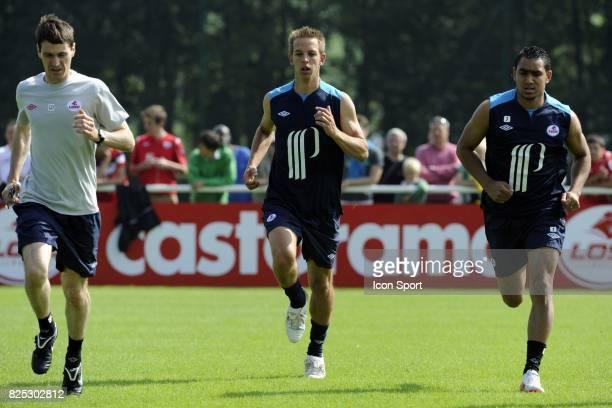 Benoit PEDRETTI / Dimitri PAYET reprise Entrainement et conference de presse Lille Ligue 1 2011/2012