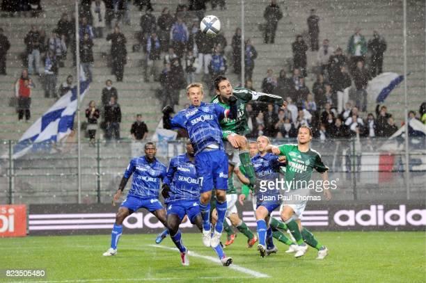 Benoit PEDRETTI / Loic PERRIN Saint Etienne / Auxerre 14 eme Journee de Ligue 1