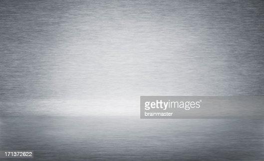 bent brushed metal background