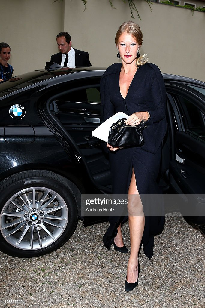 Benthe Tupke arrives for the Cinema for Peace UN women honorary dinner at Soho House on July 12, 2013 in Berlin, Germany.