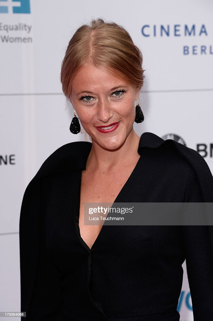 Benthe Tupker arrives for the Cinema for Peace UN women honorary dinner at Soho House on July 12, 2013 in Berlin, Germany.