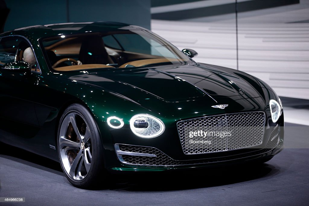 A Bentley Exp 10 Speed 6 Concept Automobile Produced By