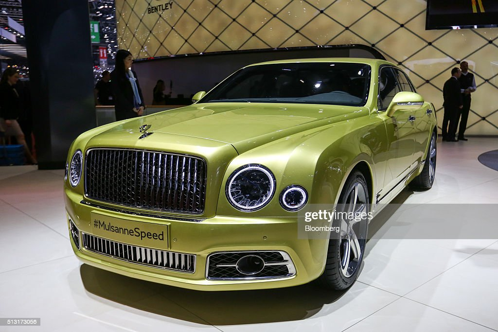Opening day of the 86th geneva motor show getty images for Bentley motors limited dream cars