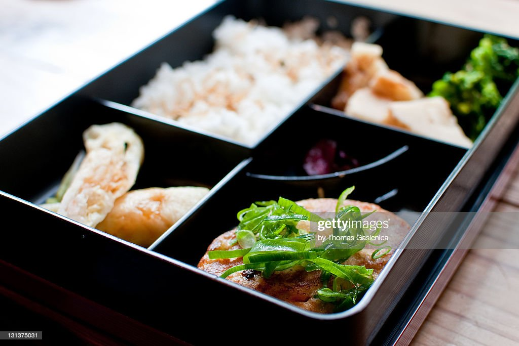 bento box for lunch stock photo getty images. Black Bedroom Furniture Sets. Home Design Ideas