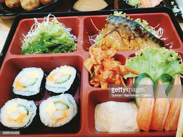 Bento Box Of Meal