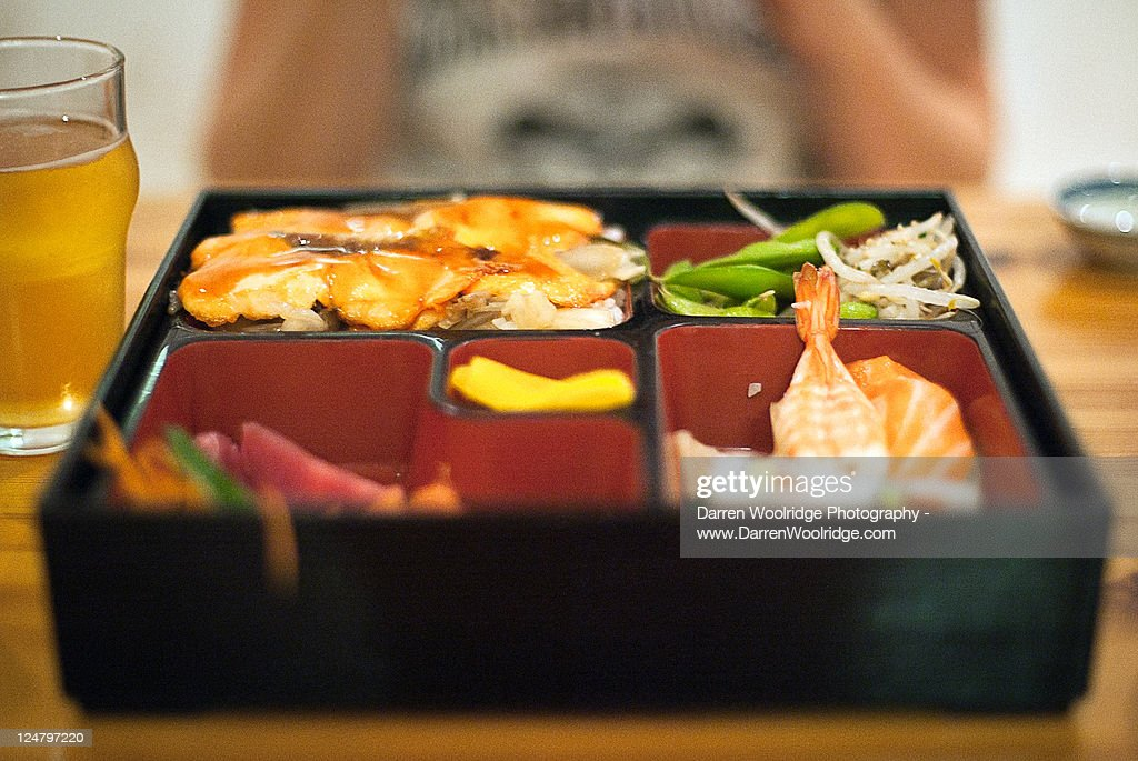 Bento box : Stock Photo