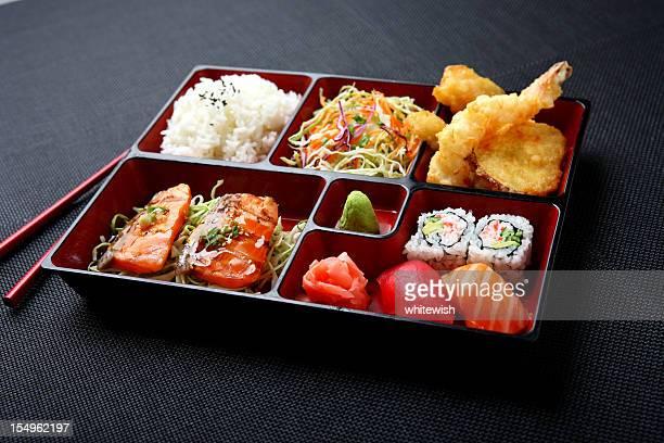 弁当-サーモン&寿司