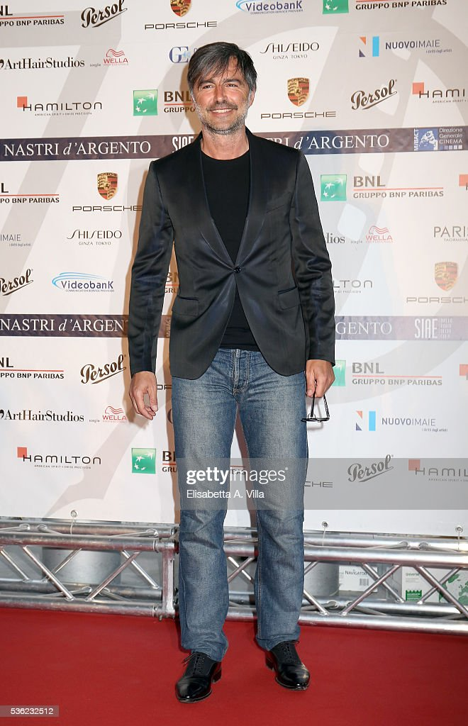 Beppe Convertini attends Nastri D'Argento 2016 Award Nominations at Maxxi on May 31, 2016 in Rome, Italy.