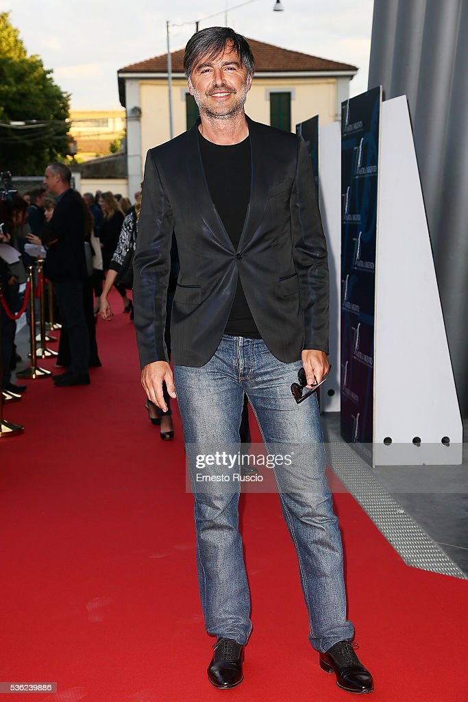 Beppe Convertini attends the Nastri D'Argento 2016 Award Nominations at Maxxi Museum on May 31, 2016 in Rome, Italy.