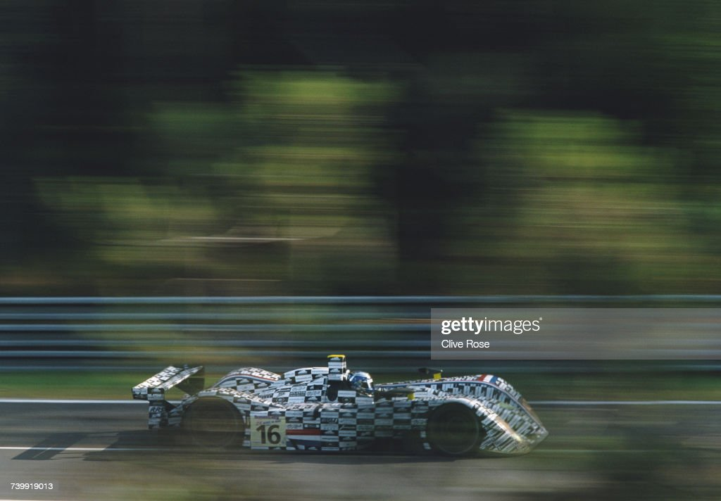 Beppe Gabbiani of Italy drives the #16 Racing For Holland Dome S101 Judd V10 during the pre race test days for the FIA World Sportscar Championship 24 Hours of Le Mans on 4 May 2003 at the Circuit de la Sarthe, Le Mans, France.