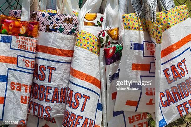 Bequia, St. Vincent, souvenir bags