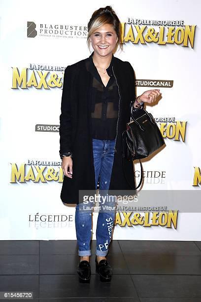 Berangere Krief attends 'La Folle Histoire de Max et Leon' Paris Premiere at Mk2 Bibliotheque on October 18 2016 in Paris France