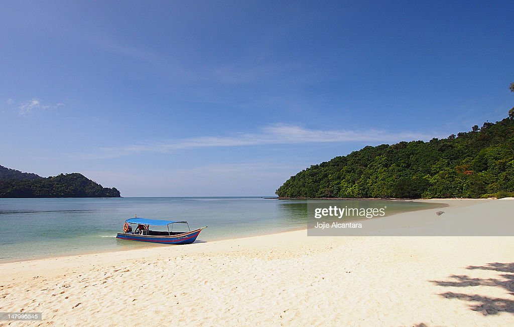 Beras Basah Island : Stock Photo