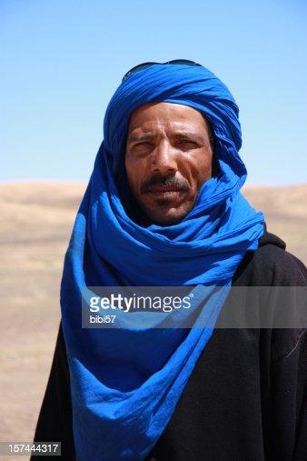 berber man in Sahara