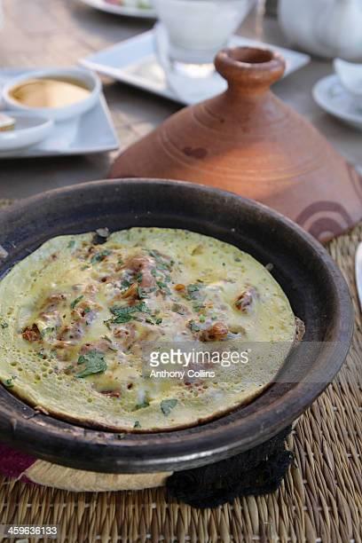 Berber omelette, Morocco