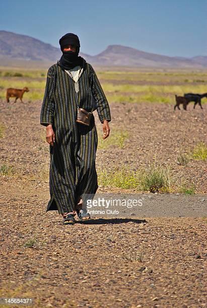 Berber shepherd in Morocco