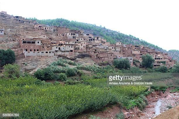 Berber village in High Atlas