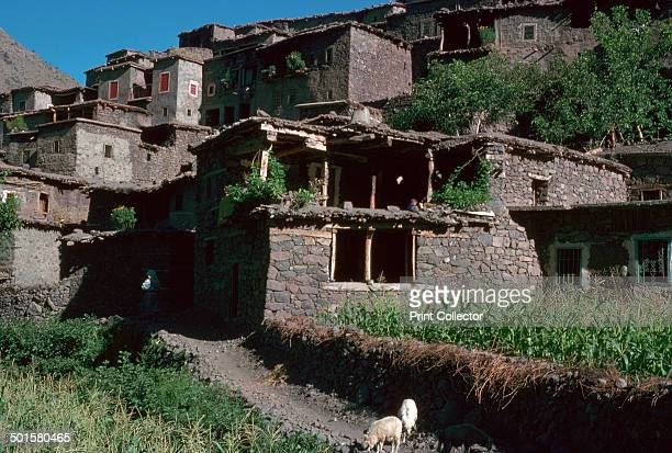 Berber village of Around at the foot of Toubkal in High Atlas